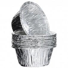 Алюминиевая форма круглая для маффина 130мл D-85мм d-55мм h-35мм
