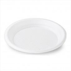 Тарелка ПС фуршетная белая d=205мм