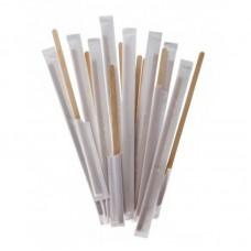 Палочка деревянная для размешивания в инд.уп.18см 250шт/уп