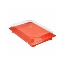 Контейнер для суши СШ-19 с крышкой 182х127х25мм оранжевый