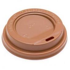 Крышка коричневая для бумажного стакана 250мл, d= 80мм