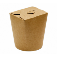 Упаковка под лапшу крафт ламин. 450 мл