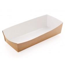 Лоток бумажный для хот-дога ECO 165х70х40мм