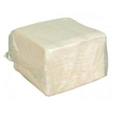 Салфетки 24х24см 1-сл. 80л в ПЭ упаковке