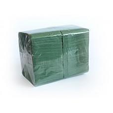 "Салфетки 24х24см 1-сл. бум. ""Big Pack"" зеленые 400шт/уп"