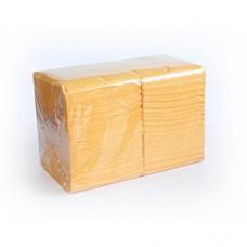 """Салфетки 24х24см 1-сл. бум. """"Big Pack"""" желтые 400шт/уп"""