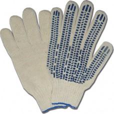 Перчатки Х/Б 4х-ниточные с точкой ПВХ