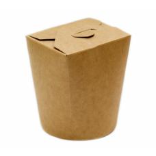 Упаковка под лапшу крафт ламин. 750 мл