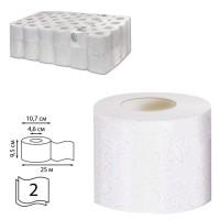 Туалетная бумага 2сл. 25м белая Veiro Professional Comfort T207