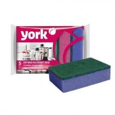 """Губка для посуды """"York Maxi"""" 5шт/уп"""