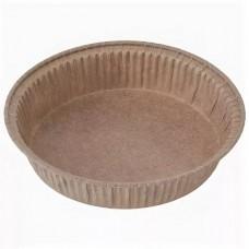 Бумажная форма для выпечки коричневая h=20мм d=90мм