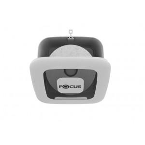Диспенсер белый Focus Mini Jumbo для туалетной бумаги в средних рулонах