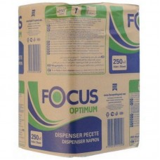 Салфетки Focus Optimum 1сл. 24х18см 250 л/уп