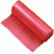 Мешки мусорные в рулоне 120л 70х110см 50мкм красные