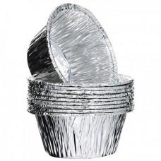 Алюминиевая форма круглая для маффина 145мл D-109мм d-90мм h-21мм