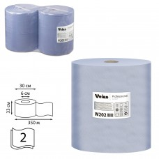 Протир.материал синий Veiro Comfort Р1/Р2 2сл.шир.33см дл.350м