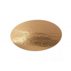 Подложка ламинированная круглая золото d=220мм