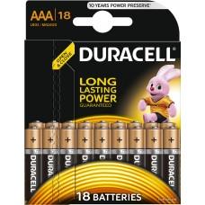 Батарейки Duracell Basic LR03 ААА 18шт/уп