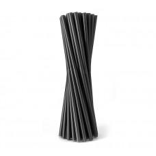 Трубочка бумажная d=6мм L=195мм черная 250шт/уп