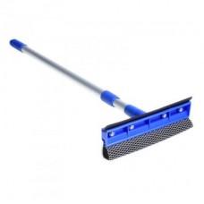 Щетка для мытья окон с телескопической ручкой 100см