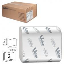 Туалетная бумага 2сл. лист.Veiro Professional Comfort 250л/уп