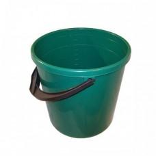 Ведро пластиковое с мерной шкалой 10л