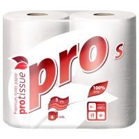 Туалетная бумага PROtissue Premium 3 сл. 4рул/уп