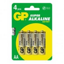 Батарейки GP LR6 AA 4шт/уп