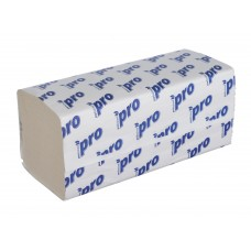 Полотенца бумажные V-сложения PRO 1 сл. 21х23 см 250л/уп