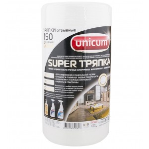 Тряпка Unicum Gold 25х21см 150 салфеток в рулоне