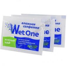 Салфетка влажная антибактериальная в индивидуальной упаковке