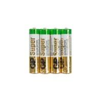Батарейки GP LR03 ААА 4шт/уп