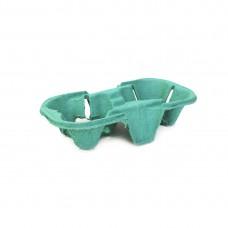 Держатель для 2 стаканов зеленый