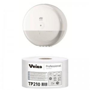 Туалетная бумага 2сл. 215м белая Veiro Professional Comfort TP210