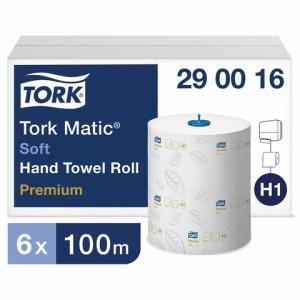 Полотенце рулонное Tork Matic Premium H1 2сл. 100м