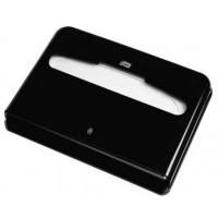Диспенсер для бумажных покрытий на унитаз Tork V1 черный
