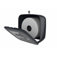 Диспенсер черный Focus Mini Jumbo для туалетной бумаги в средних рулонах