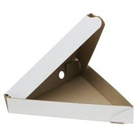 Коробка под пиццу треугольная 220х220х220х35мм