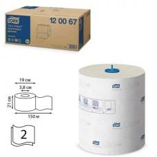 Полотенце рулонное Tork Matic Advanced H1 2сл. 150м с цветным тиснением