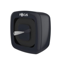 Диспенсер черный Focus для туалетной бумаги с центр.вытяжкой