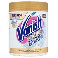 Пятновыводитель Vanish Gold OXI Action Кристальная белизна порошок 500г