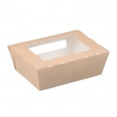 Упаковка 600 мл с прозрачным окном 150*115*50мм