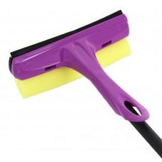 Щетка для мытья окон с телескопической ручкой без сгона 150см