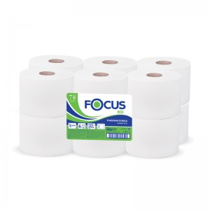 Туалетная бумага 2сл. 170м белая Focus Mini Jumbo