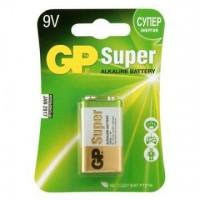 Батарейки GP Super Крона 9V 6LR61 1шт/уп
