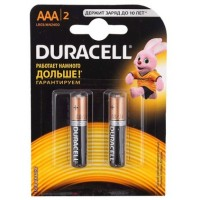 Батарейки Duracell LR03 ААА 2шт/уп