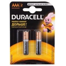 Батарейки Duracell LR03 ААА 2 шт/уп