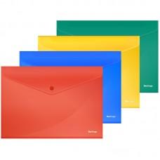 Папка-конверт на кнопке А4 180мкм