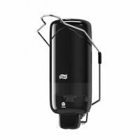 Диспенсер для жидкого мыла с локтевым приводом 1л Tork Elevation S1 черный