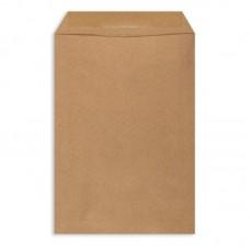 Пакет бумажный крафт конверт 77х220мм